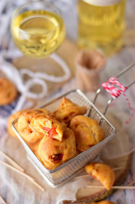 Recette de Gougères au poivron, Ossau-Iraty et piment d'Espelette