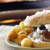 Hamburger à la crème d'Ossau-Iraty
