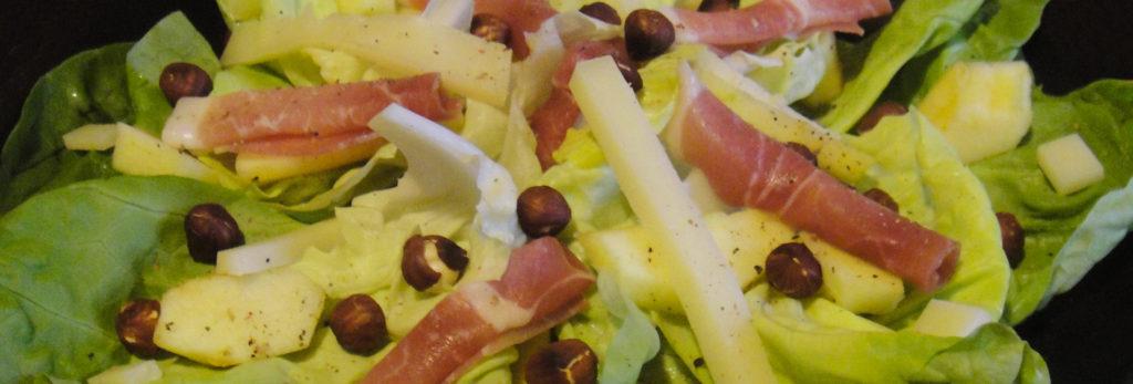 Salade fraicheur à l'Ossau-Iraty