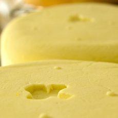Marquage en creux du fromage