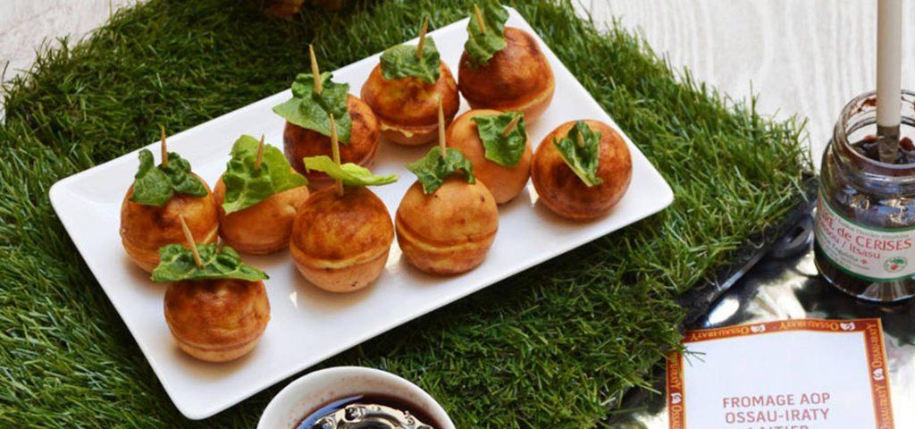 Cakes pop au fromage de brebis Ossau-Iraty
