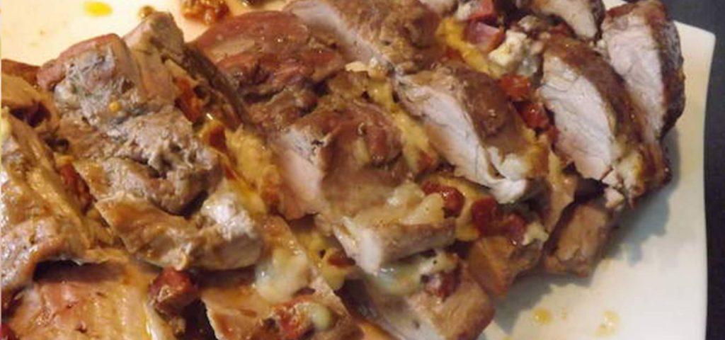 Filet mignon de porc au chorizo et Ossau-Iraty