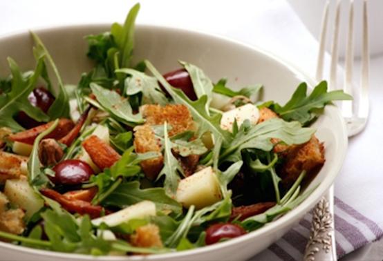 Salade roquette pur brebis Ossau-Iraty
