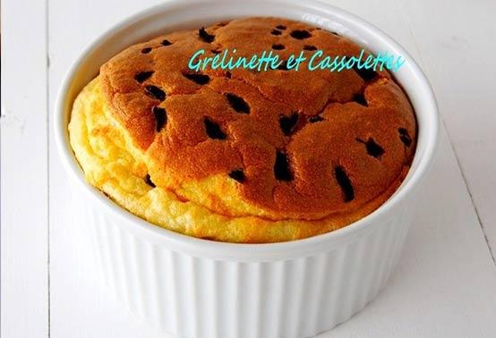Soufflé à la truffe et fromage de brebis Ossau-Iraty