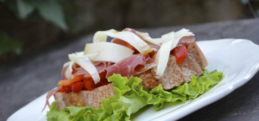 Tartines Basques, Jambon de Bayonne Ossau-Iraty