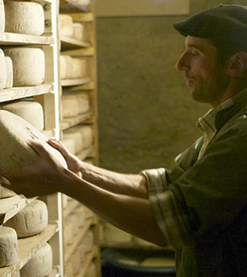 Étape route du fromage