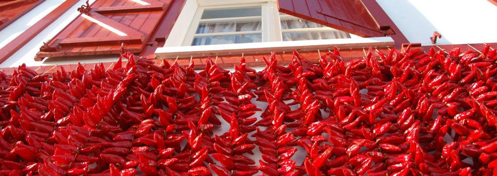 façade maison piment espelette